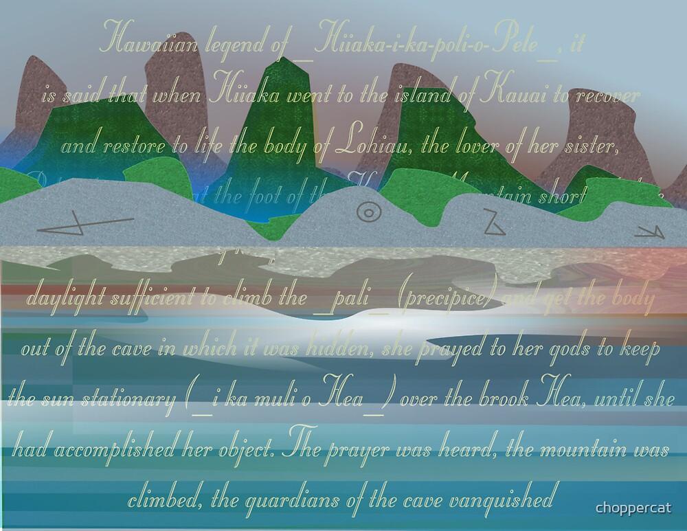 Hawaiian Prayer 02 by choppercat