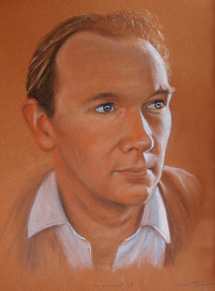 Self-portrait by Brian Towers
