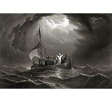 Jesus Christ Stills the Tempest Photographic Print