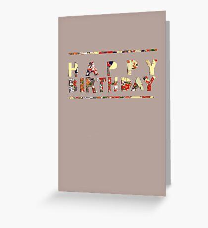 handmade happy Greeting Card