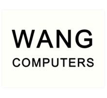 Wang Computers - Martin Prince The Simpsons Art Print