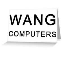 Wang Computers - Martin Prince The Simpsons Greeting Card