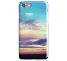 Summers night sunset iPhone Case/Skin