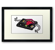 Possessed Sega genesis  Framed Print