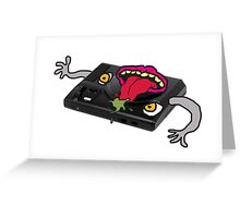 Possessed Sega genesis  Greeting Card