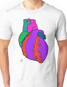 Big Heart  (Alt. Colour 2) Unisex T-Shirt