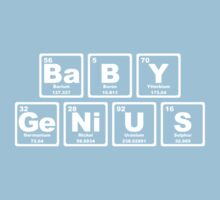 Baby Genius - Periodic Table One Piece - Short Sleeve