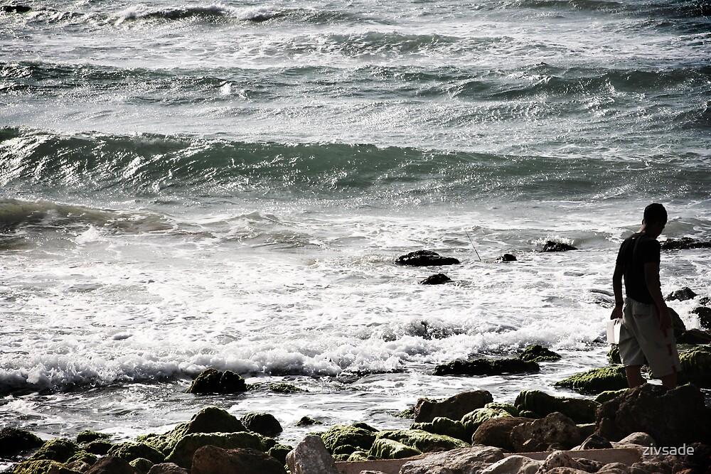 the sea by zivsade