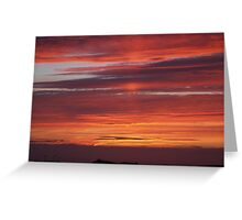 Sunset Tory Island, County Donegal, Ireland. Greeting Card