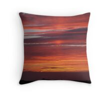 Sunset Tory Island, County Donegal, Ireland. Throw Pillow
