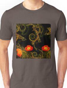 Decorative poppy Unisex T-Shirt