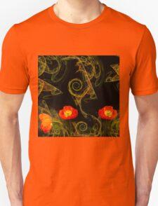 Decorative poppy T-Shirt