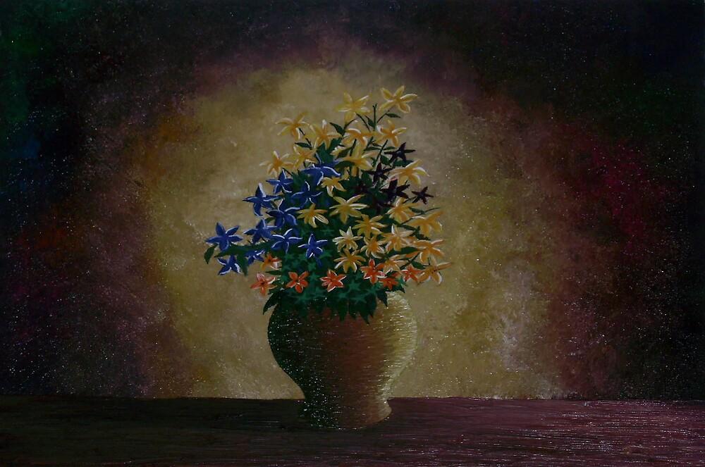 Flowers in a Vase by kehinde