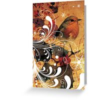 christmas birds 2 Greeting Card