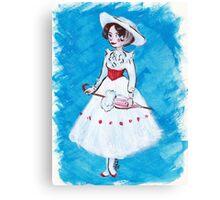 Miss Poppins Canvas Print