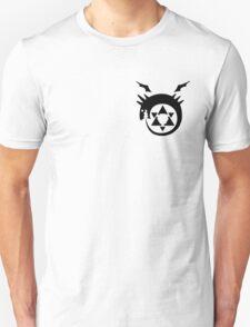 Fullmetal Alchemist O(u)roboros Homunculus Logo Black T-Shirt