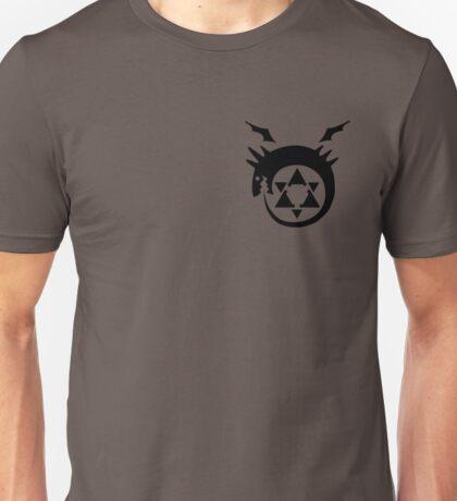 Fullmetal Alchemist O(u)roboros Homunculus Logo Black Unisex T-Shirt