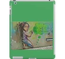 Your mind is like a garden iPad Case/Skin