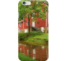 Wallace Cross Grist Mill Reflection iPhone Case/Skin
