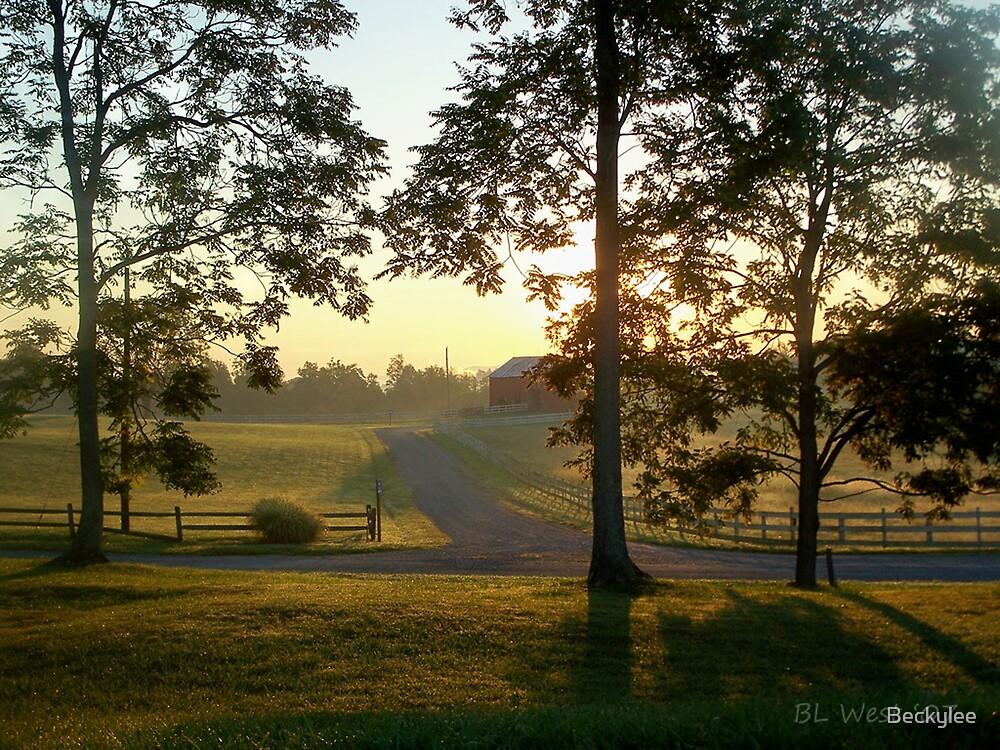 A Virginia Farm by Beckylee