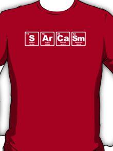 Sarcasm - Periodic Table T-Shirt
