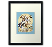 Doctor Oz Framed Print