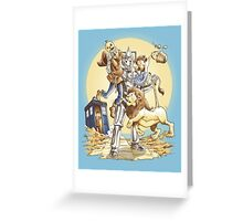 Doctor Oz Greeting Card