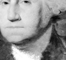 Portrait of George Washington Sticker