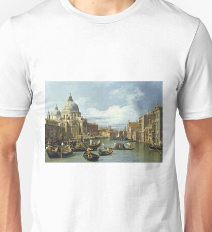 Canaletto - The Entrance To The Grand Canal, Venice Unisex T-Shirt
