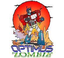 Optimus Prime Zombie Photographic Print