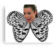Butterfly Kim Canvas Print