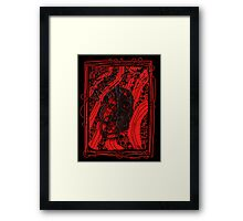 Mirror, Mirror Tormented Musician Framed Print