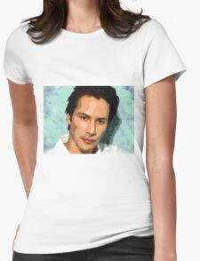 Keanu Womens Fitted T-Shirt