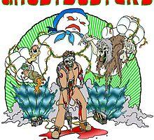 Zombie Ghostbusters by Skree