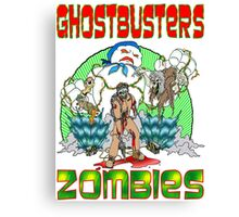 Zombie Ghostbusters Canvas Print