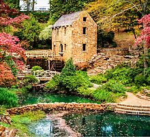 Afternoon At The Old Mill - Arkansas by Gregory Ballos   gregoryballosphoto.com