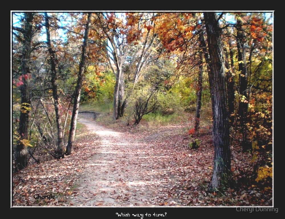 walk with me by Cheryl Dunning