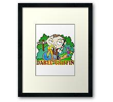 DARYL MEETS STEWIE Framed Print