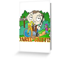 DARYL MEETS STEWIE Greeting Card