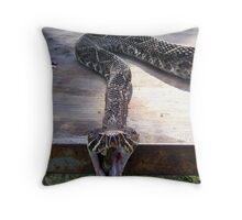Rattle Snake 2 Throw Pillow