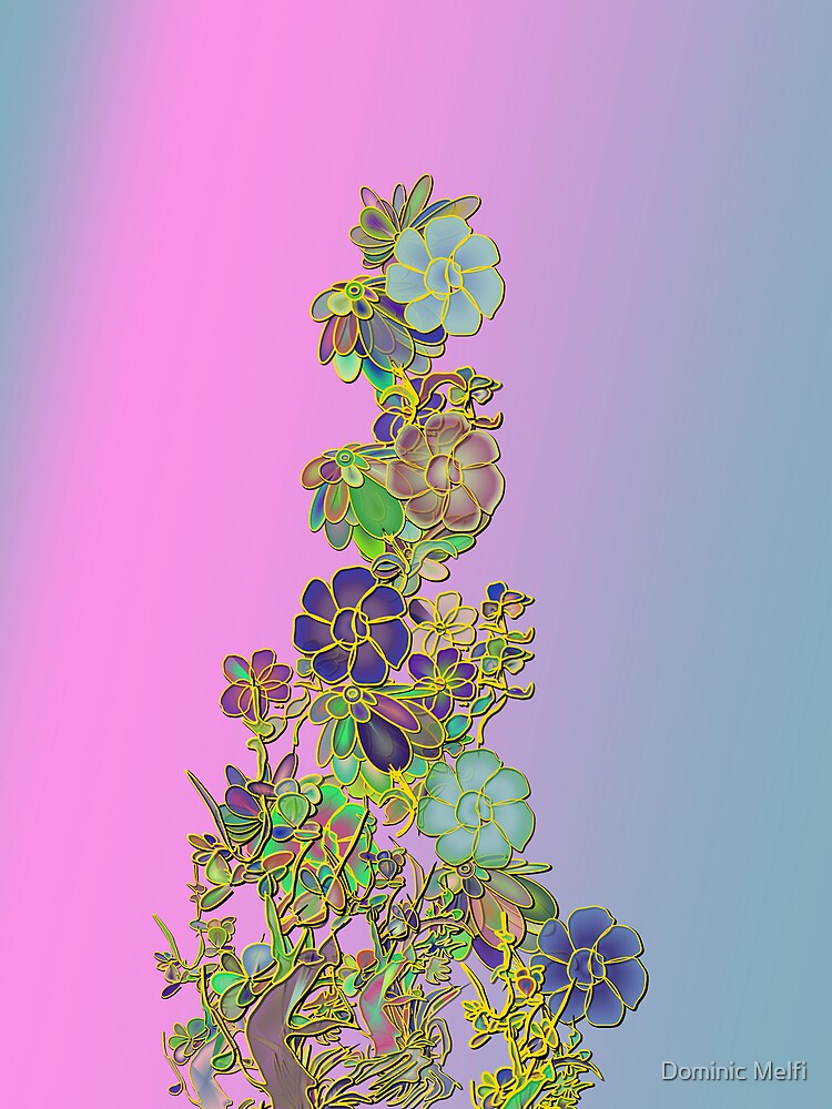 Gilded Floral design by Dominic Melfi