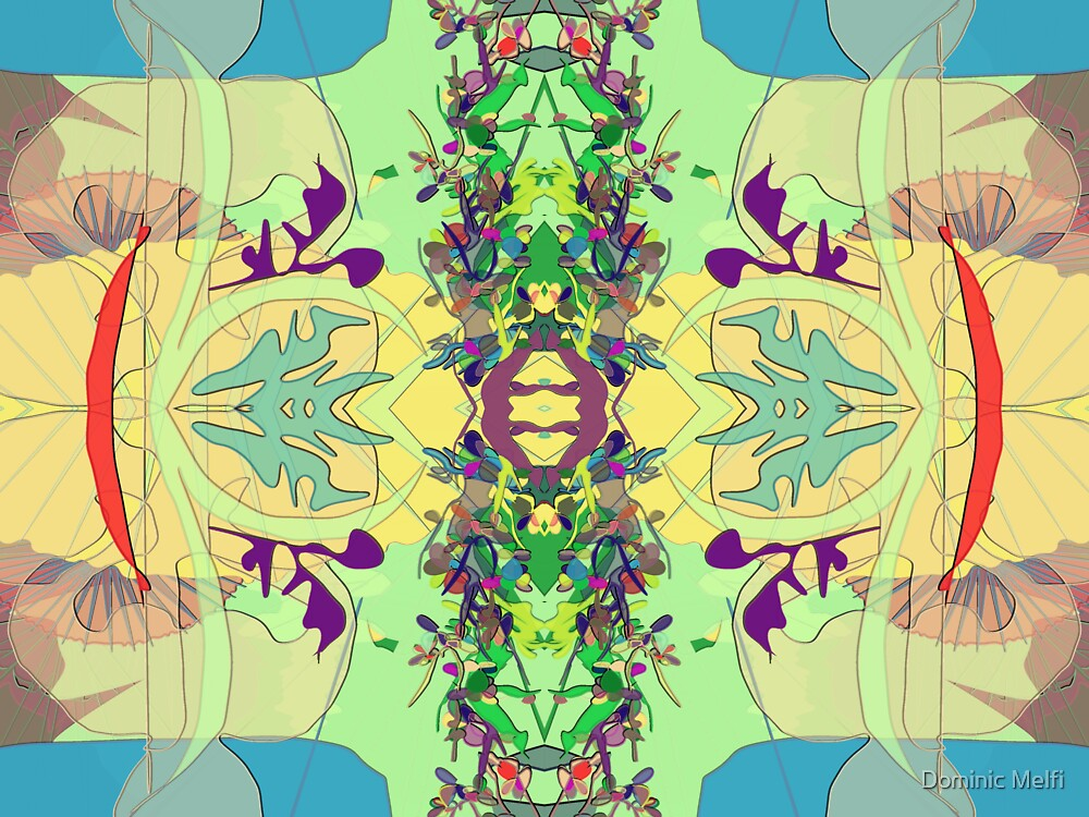 Abstract design by Dominic Melfi