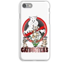 CATBUSTERS iPhone Case/Skin
