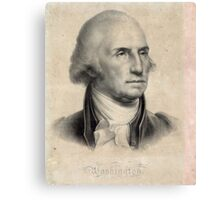 Portrait of George Washington Canvas Print