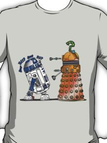 R2D2 meets a Dalek T-Shirt
