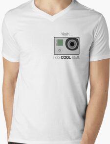 GOPRO - I do cool stuff Mens V-Neck T-Shirt