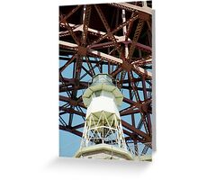 Fort Point Lighthouse > Greeting Card