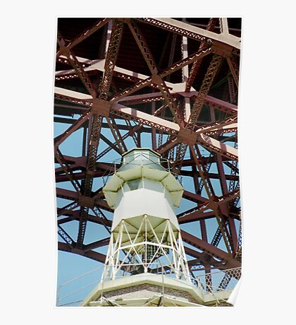 Fort Point Lighthouse > Poster