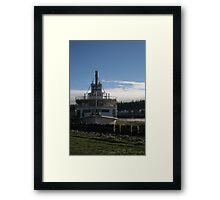 S.S. Klondike, Yukon, Canada. Framed Print
