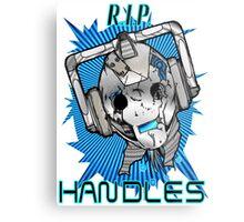 Rest In Peace Handles Metal Print